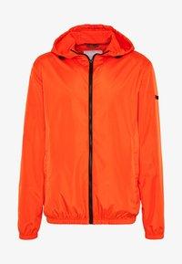 Windbreaker - bright orange