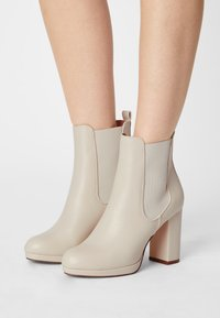 Anna Field - High heeled ankle boots - off-white - 0