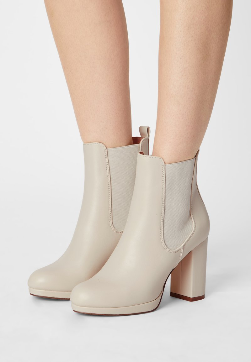Anna Field - High heeled ankle boots - off-white