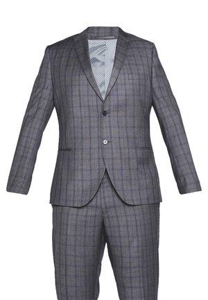 CHECK SUIT PLUS - Oblek - grey