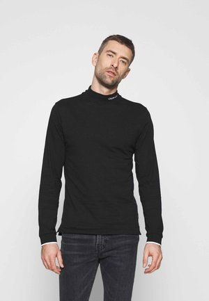 MOCK NECK LONG SLEEVE  - Maglietta a manica lunga - black