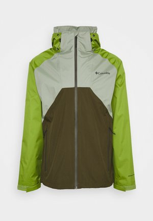 RAIN SCAPE JACKET - Waterproof jacket - safari/matcha/new olive
