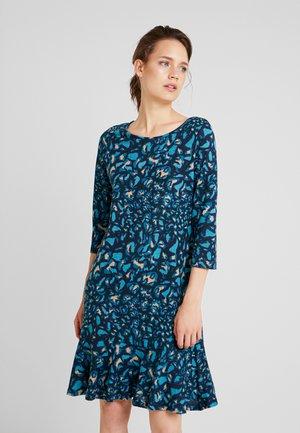 Day dress - blue/dark blue/black
