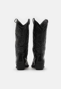 Rubi Shoes by Cotton On - DEVON TALL WESTERN BOOT - Biker-/cowboynilkkurit - black - 2