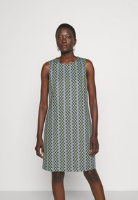 M Missoni - DRESS - Denní šaty - powderblue/milk/black/spearmint - 0