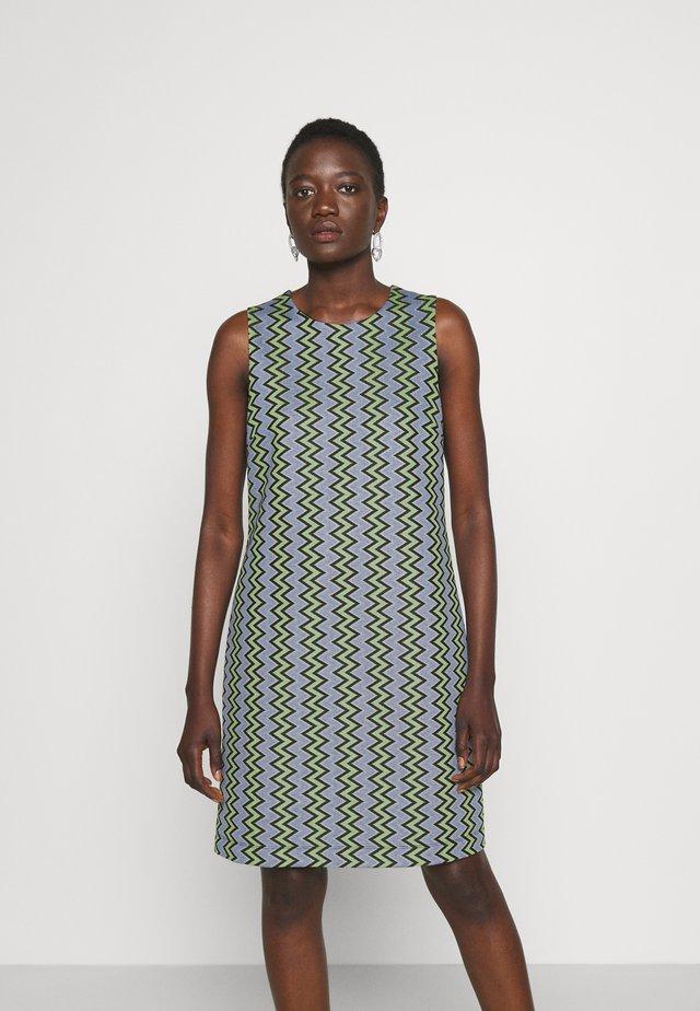 DRESS - Denní šaty - powderblue/milk/black/spearmint