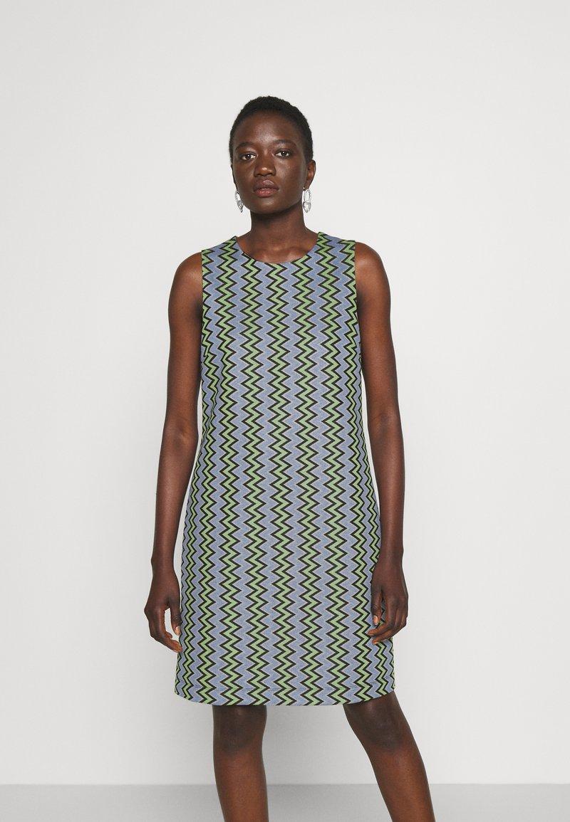 M Missoni - DRESS - Denní šaty - powderblue/milk/black/spearmint