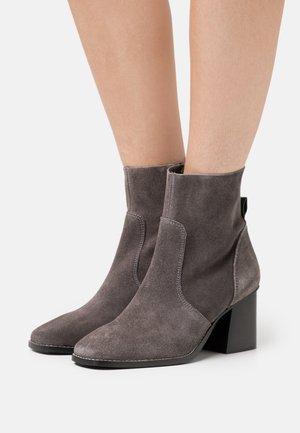 Støvletter - dark grey