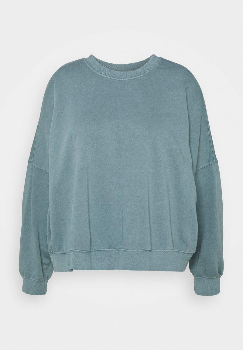 Cotton On Curve - HARPER CREW NECK PULLOVER - Sweatshirt - mid blue