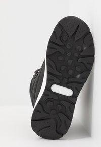 KangaROOS - K-FLOSSY RTX - Winter boots - jet black/steel grey - 5