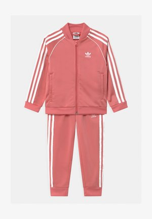 SET - Tracksuit - hazy rose/white