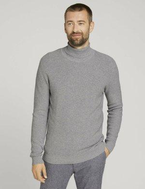 Bluza - light soft grey melange