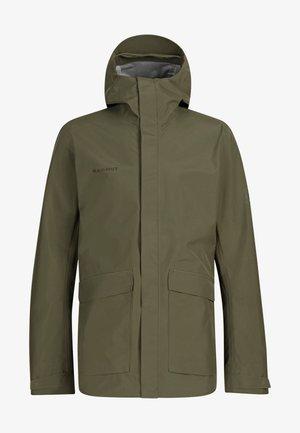 Hardshell jacket - iguana