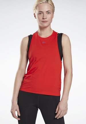 RUN ACTIVCHILL TANK TOP - Top - red