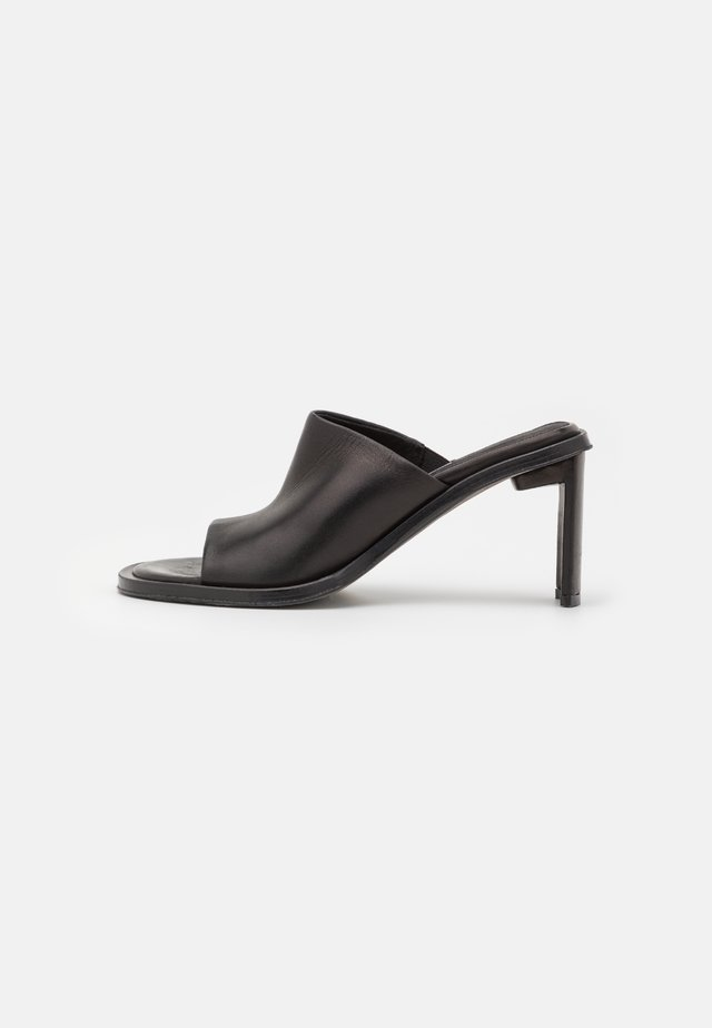MELISSA - Slip-ins med klack - black