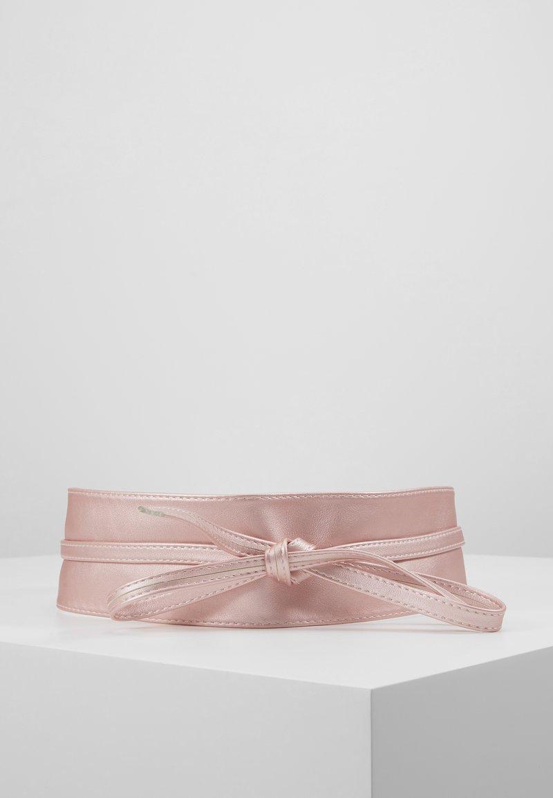 NAF NAF - SKIMONO - Ceinture taille haute - rose-gold