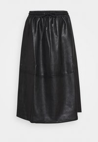 Opus - RAMEA - A-line skirt - black - 0