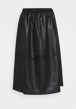 RAMEA - A-line skirt - black