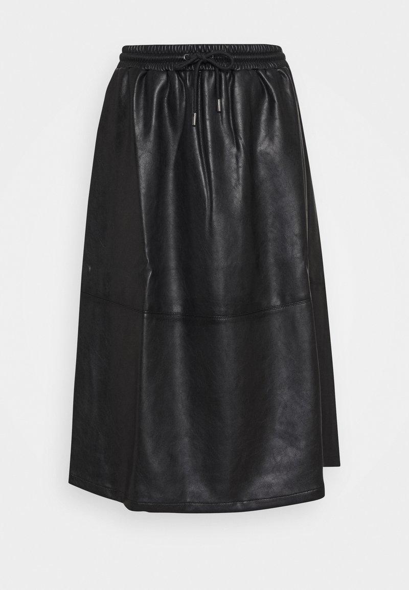 Opus - RAMEA - A-line skirt - black
