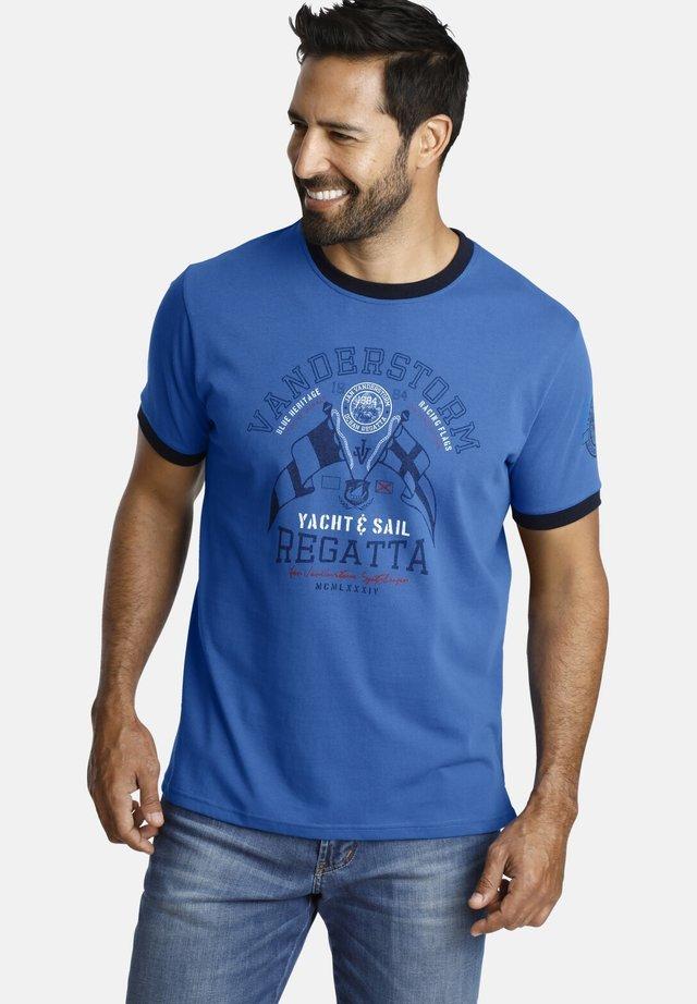 RAEL - T-shirt imprimé - blue