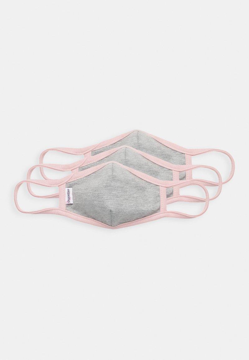 maximo - KIDS FACEMASK 3 PACK - Stoffen mondkapje - grey/malve
