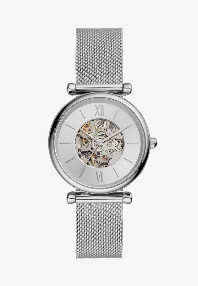 CARLIE - Horloge - silver-coloured