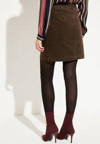 comma casual identity - Mini skirt - dark khaki - 2