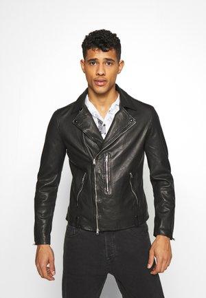 BONDI BIKER - Veste en cuir - black