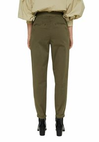 Esprit Collection - Trousers - dark khaki - 2