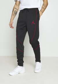 Jordan - JUMPMAN AIR SUIT PANT - Träningsbyxor - black/gym red - 0