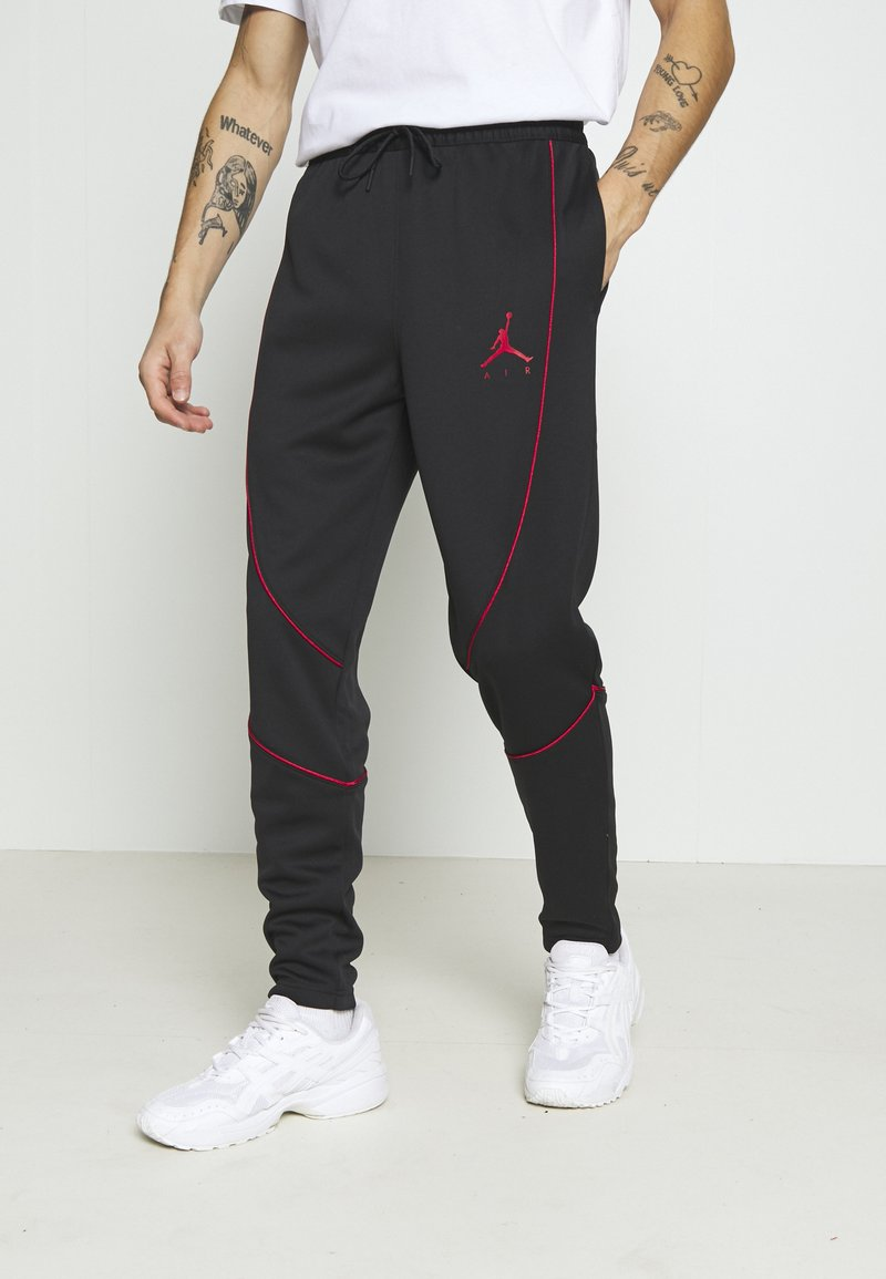Jordan - JUMPMAN AIR SUIT PANT - Träningsbyxor - black/gym red
