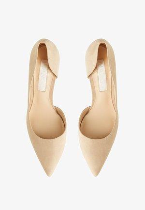 AUDREY - High heels - hellgrau/pastellgrau
