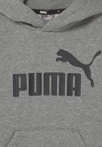 Puma - BIG LOGO HOODIE UNISEX - Sweater - medium gray heather - 2