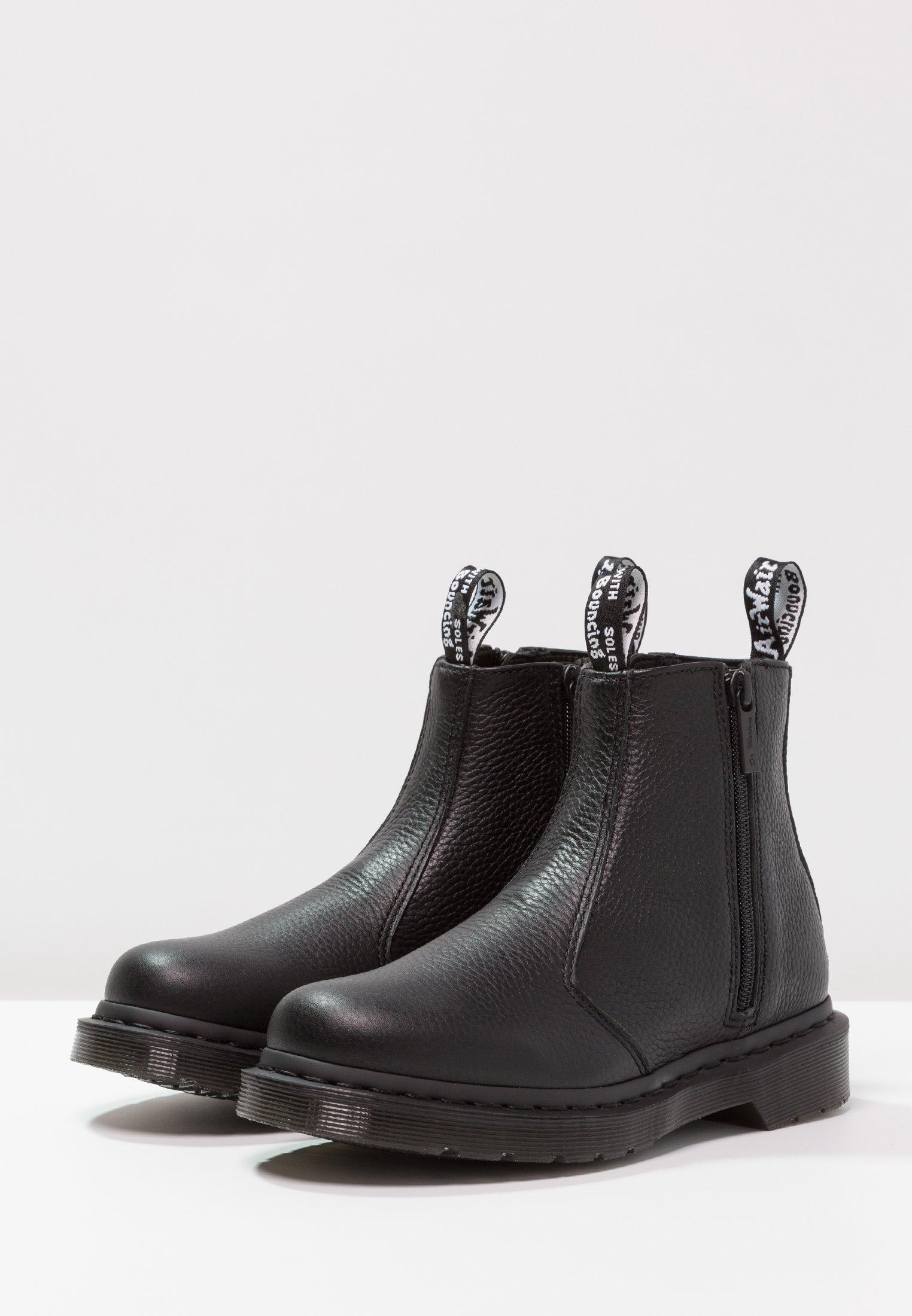 Dr. Martens 2976 WZIPS CHELSEA BOOT Støvletter black