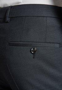 JOOP! - GUN - Pantaloni eleganti - mottled black-gray - 3