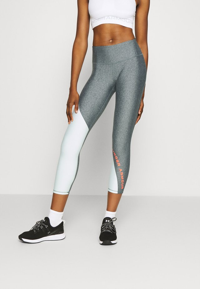 ANKLE CROP - Medias - charcoal light heather