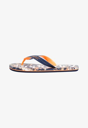 SCUBA ALL OVER PRINT - Pool shoes - indo leaf
