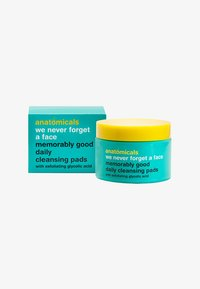 Anatomicals - WE NEVER FORGET A FACE GLYCOLIC WIPES 60 PACK - Cleanser - neutral - 0