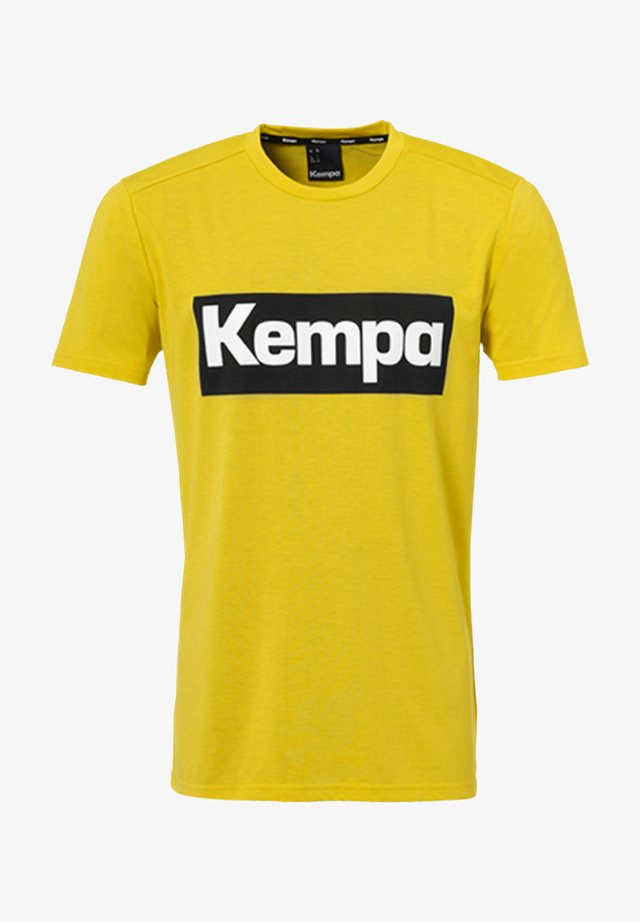 LAGANDA - Print T-shirt - gelb