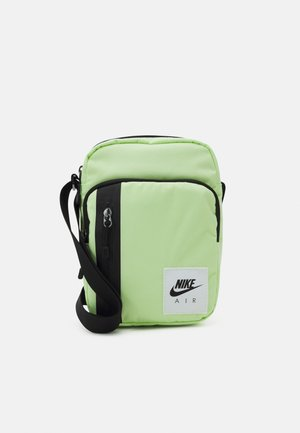 AIR TECH UNISEX - Across body bag - liquid lime/black/white