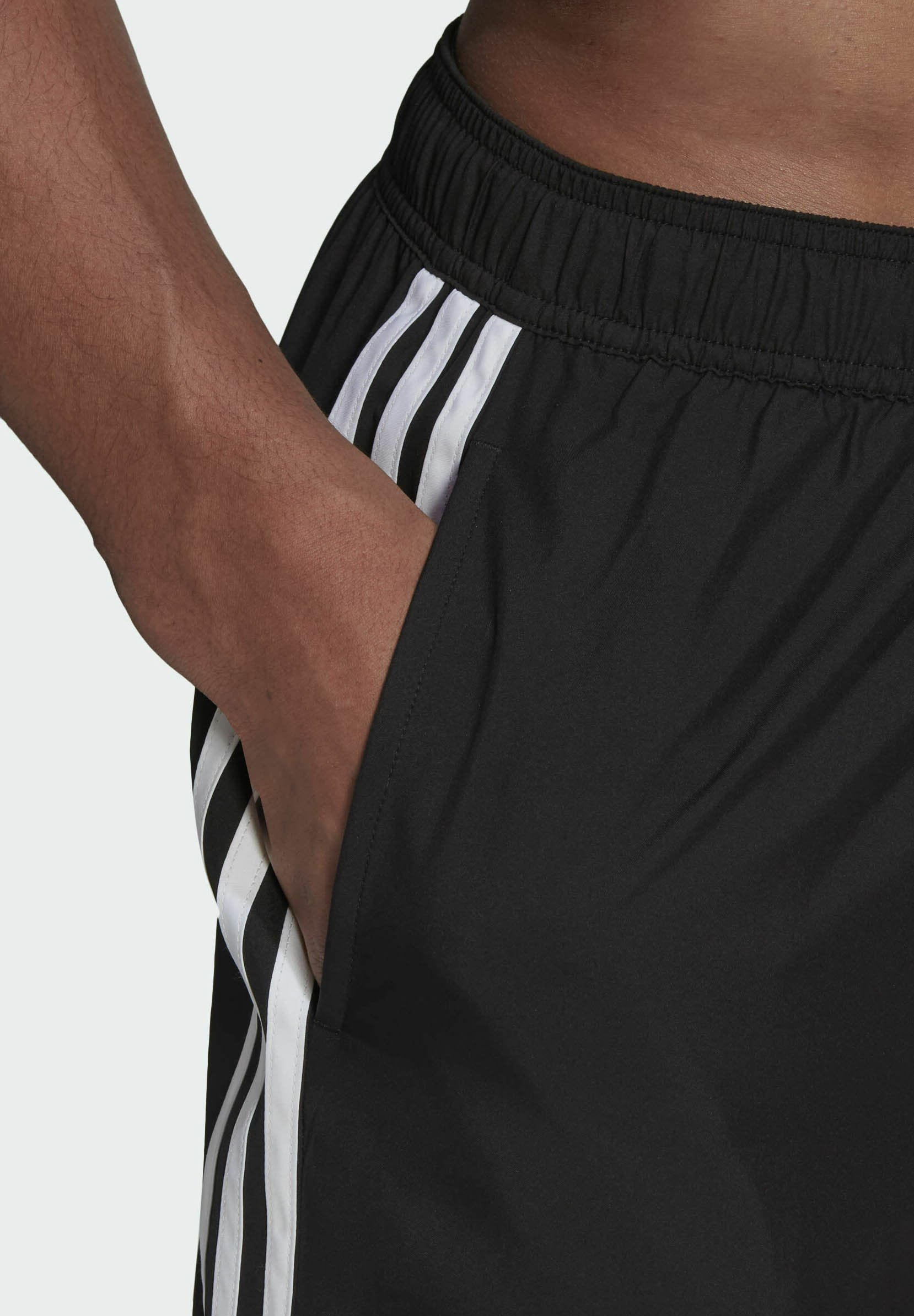 Men 3 STRIPES CLASSICS PRIMEGREEN SWIM SHORTS - Swimming shorts