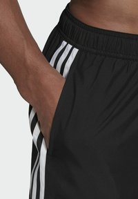 adidas Performance - 3 STRIPES CLASSICS PRIMEGREEN SWIM SHORTS - Swimming shorts - black - 3