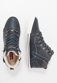 Mustang - Baskets montantes - navy - 1