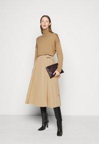 WEEKEND MaxMara - SACHA - A-line skirt - kamel - 1