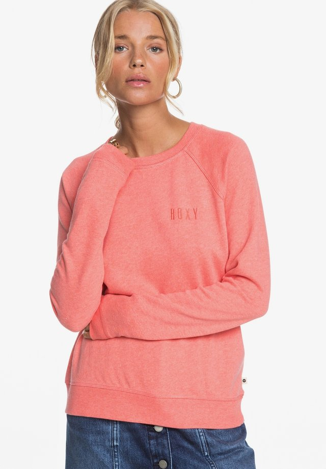 STAY TOGETHER - Sweatshirt - deep sea coral heather