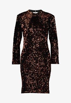 YASWHITNEY 3/4 DRESS - Etuikjole - black