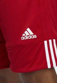 adidas Performance - SPEED REVERSIBLE SHORTS - Urheilushortsit - red - 3
