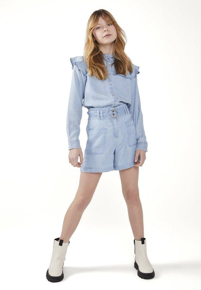 TREYS TEN - Button-down blouse - blauw