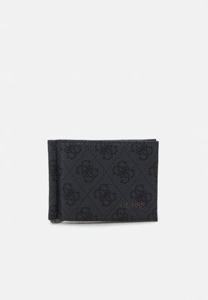 VEZZOLA MONEY CLIP CARD CASE - Portemonnee - black