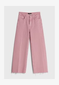 Bershka - Džíny Straight Fit - pink - 5